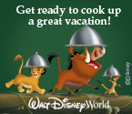 Free Dining Plan w/ 7 day/6 night Disney packages late September thru early December.  Some blackout dates apply.